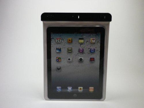 RIMINI 防水ケース  Waterproof case for iPad  GalaxyTab 等各種10インチタブレット・ゲーム機用 ホワイト 防水保護等級:IPX8 水深10m対応 WP-280CWH