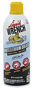 Liquid Wrench L616 Liquid Wrench White Lithium Grease - 10.25 oz.