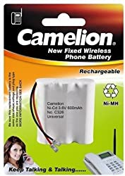Camelion 3NC-AA600BMU-BP (600 Universal) Cordless Battery