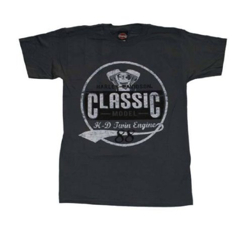 Harley-Davidson® Men's Classic Model 88 T-Shirt. House of Harley Graphics on Backside. All Cotton. 302907370