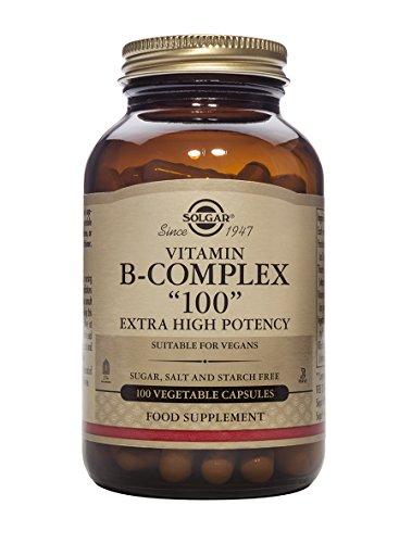 """Solgar Formula Vitamin B-Complex """"100"""" Vegetable Capsules - 100 Vegicaps"""