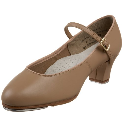 Capezio Women's Tap Jr. Footlight Tap Shoe,Caramel,6.5 W US