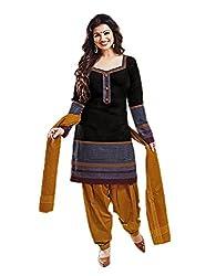 Aarvi Women's Cotton Unstiched Dress Material Multicolor -CV00135