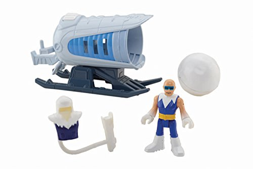 Fisher-Price Imaginext Dc Super Friends Captain Cold And Ice Cannon Action Figure CFC05