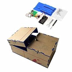 Useless Box DIY Kit Useless Machine Birthday Gift Toy Geek Gadget Fun Office Home Desk Decor