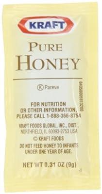 Kraft Pure Honey, 9-Gram Packages (204 pack) by Kraft