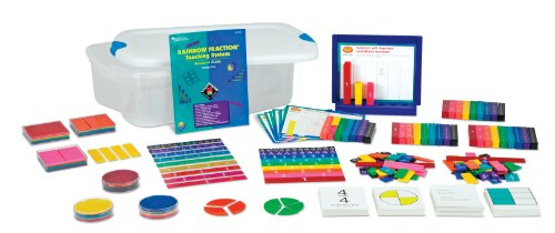 Learning Resources Rainbow Fraction Teaching 