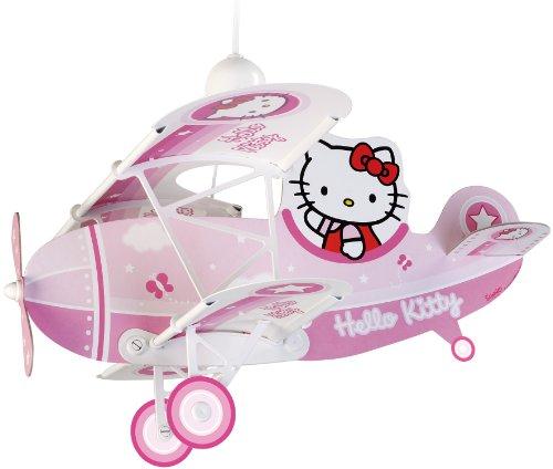 Dalber 54252 Lampadario Hello Kitty in aereo, per bambini