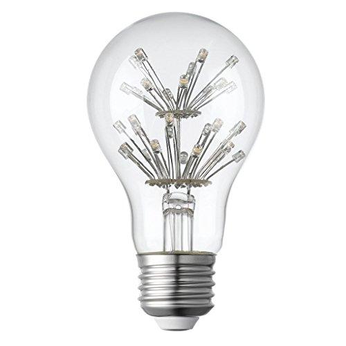 LIGHTSTORY Starry LED Bulb, E26 Base 2200K A19 Edison Decorative LED Light Bulbs, Non-Dimmable 1