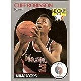 CLIFF ROBINSON ROOKIE, NBA HOOPS, 1990 PORTLAND TRAILBLAZERS