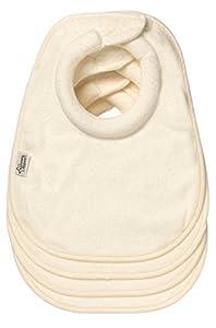 Tommee Tippee Milk Feeding Bibs (4 pack) - Cream