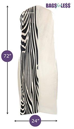 bags for less breathable wedding dress garment bag zebra print best luggage store. Black Bedroom Furniture Sets. Home Design Ideas