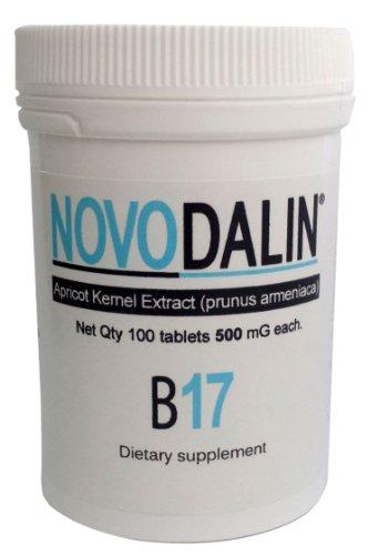 Novodalin B17 Vitamin B17 500 Mg Tablets