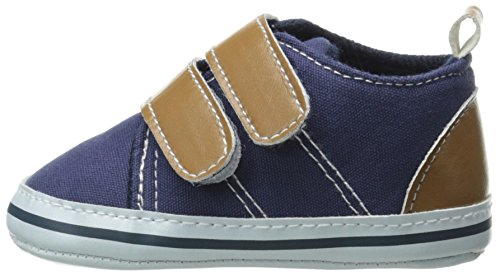 Luvable Friends Canvas Hook & Loop Boys Shoes Infant