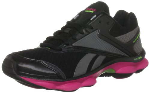 Reebok Women's Runtone Ready Black/Rivert Grey Running Shoes V58089 8 UK, 42 EU, 10.5 US