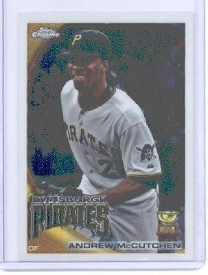 2010 Topps Chrome Baseball Card # 35 Andrew McCutchen - Pittsburgh Pirates - MLB Trading Card
