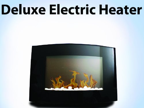 New 1500W Diva Tranquility Wall Mount Electric Fireplace Space Heater 1500 Watts picture B00GX3955Y.jpg