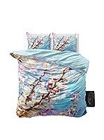 SleepTime Juego De Funda Nórdica Blossom Light (Azul)