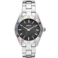 DKNY NY8718 Ladies Essentials & Glitz Silver Watch by DKNY