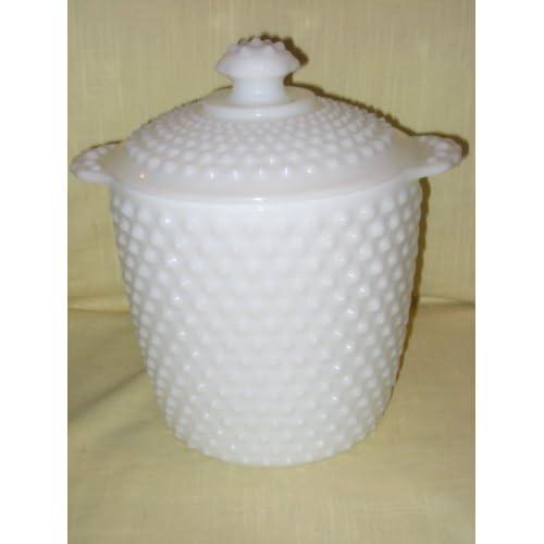 Vintage Anchor Hocking Cookie Jar Vintage Anchor Hocking Hobnail