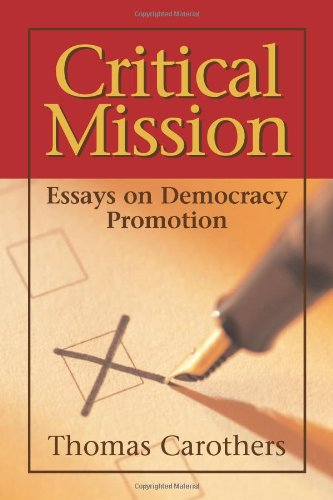 critical democracy essay mission promotion The project gutenberg ebook of democracy and education,  important as is this method at critical junctures it consists in the habits of understanding,.
