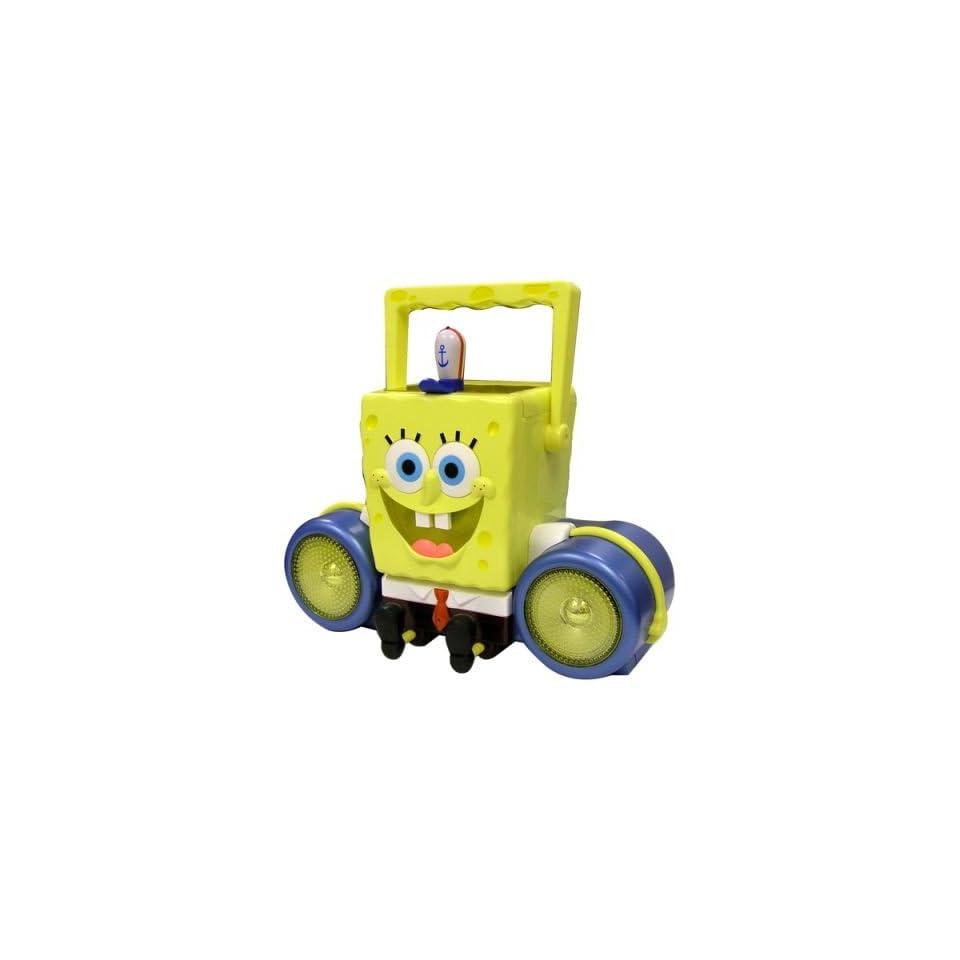 SpongeBob SB286 SquarePants Portable CD Boom Box