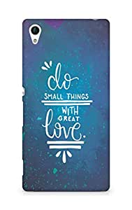 AMEZ do great things with love Back Cover For Sony Xperia Z4