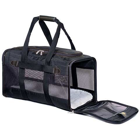 Cheap Sherpa Original Deluxe Small Cat and Dog Carrier, Black