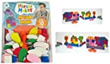 Mister Maker 3D Foam Shapes Model Kits. This pack is full of self adhesive foam shapes that can be placed on card and paper and fabrics to create wonderful scenes of any kind or theme. Bright colours and shapes make it great fun for gift ideas and rainy