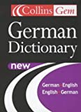 Collins Gem Dictionary German (German Edition) (0007110049) by Harpercollins