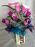 Candy Bouquet Edible Vase Full Size - Cookies and Cream