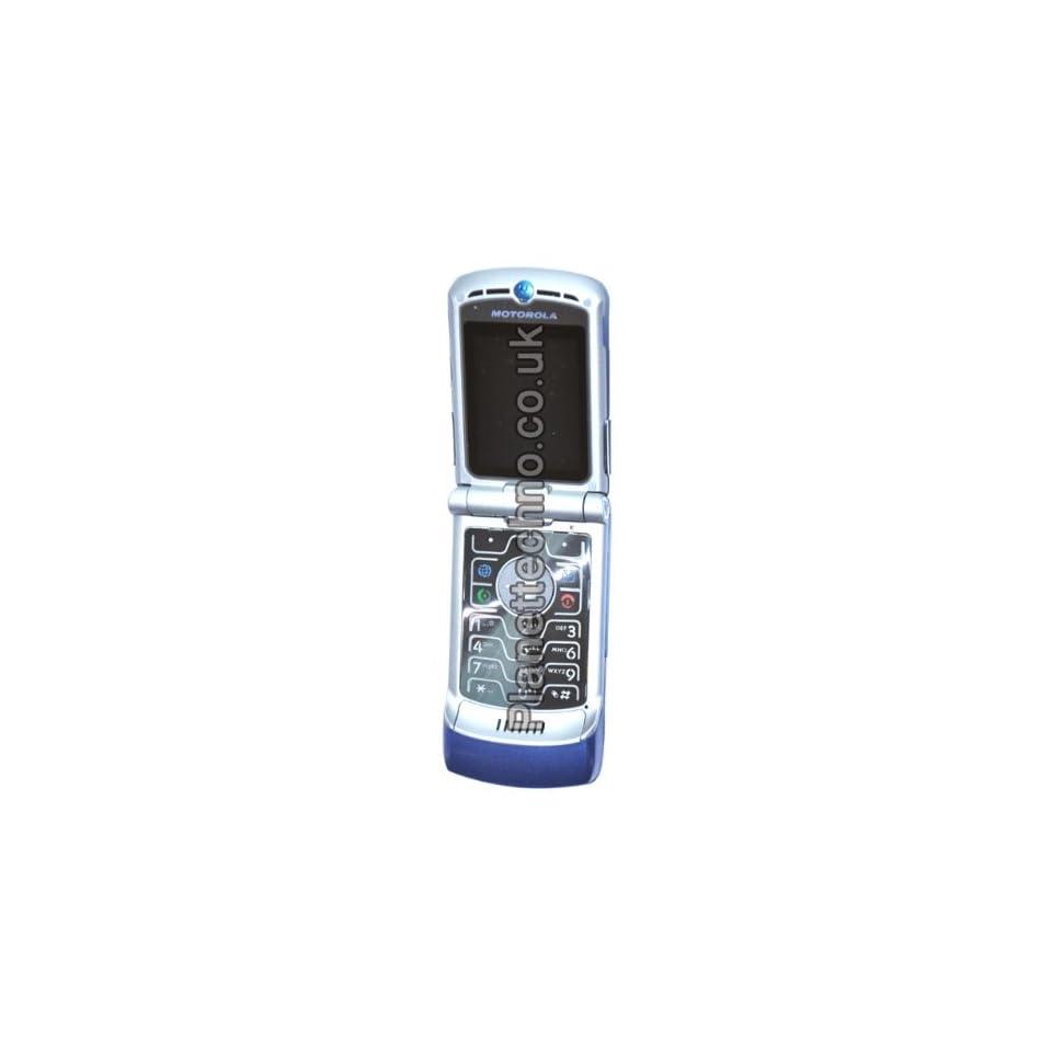 Motorola RAZR V3 Unlocked Phone with Camera and Video Player  International Version with No Warranty (DARK BLUE)