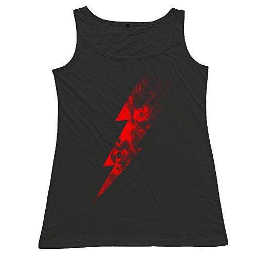 Female Lightning Chase Sport Black Vest Mens