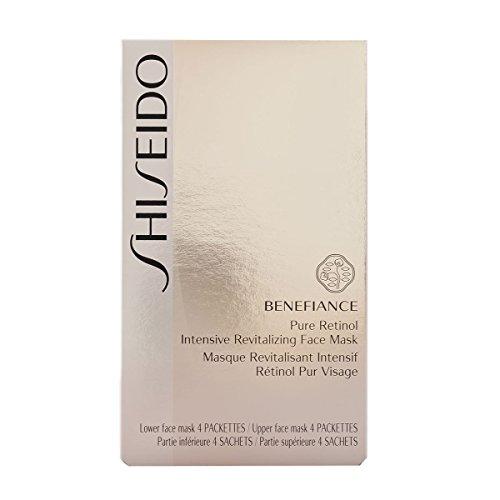 все цены на Shiseido Benefiance Pure Retinol Intensive Revitalizing Face Mask 4 Packetts / 4 Sachets онлайн