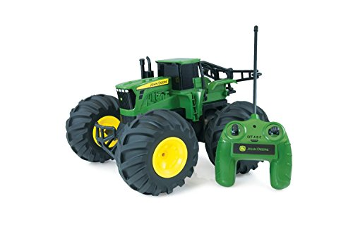 <b>John Deere Monster Treads Remote Control Tractor</b>