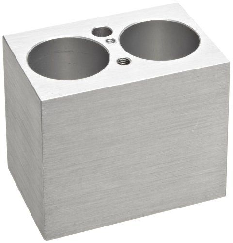 Alkali Scientific BSH100-500 MyBlock 2 x 50mL Centrifuge Tubes Mini Heat Block, For Mini Digital Dry Bath (Centrifuge Mini compare prices)