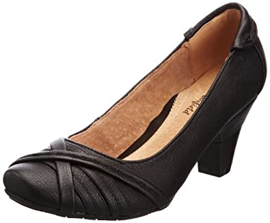 Manfield Women's Wisconsin Black Decorative FLS423 3 UK