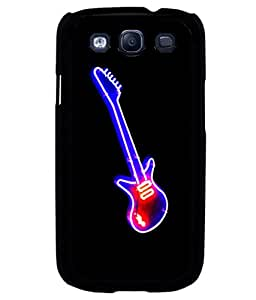 printtech LED Colored Guitar Back Case Cover for Samsung Galaxy S3::Samsung Galaxy S3 i9300
