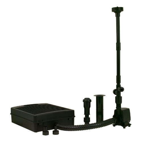 Tetra pond fk6 filtration fountain kit with pump filter for Pond pump and filter sets