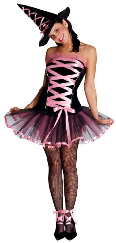 Pink Gothic Witchy La Bouf Costume - Sexy Witch Costume