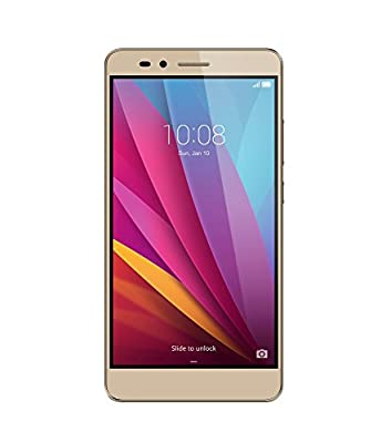 Huawei Honor 5X Unlocked Smartphone - Gold 16GB (U.S. Warranty)