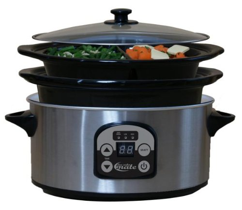 Digital Slow Cookers: BDY SCO-62P 16 oz. Slow Cooker Mate