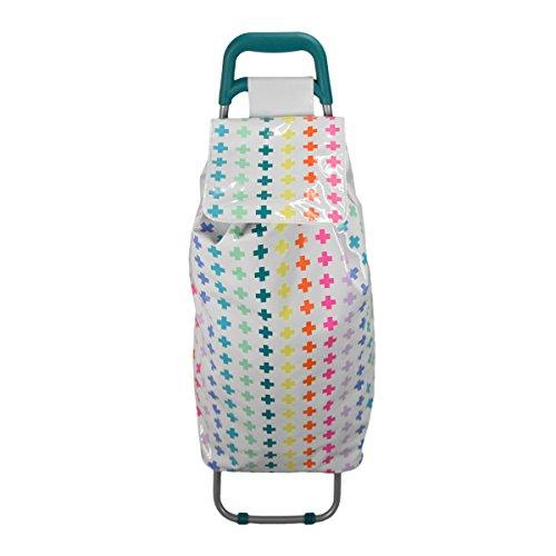auswirkungen-paris-60719-rucksack-roulette-technicolor-kreuz-mit-2-rader-stahl-vinyl-mehrfarbig-30-x