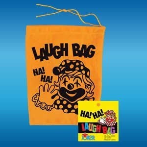 Novelty Laughing Laugh Gag Joke Bag Clown Toy