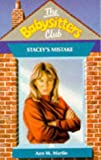 Stacey's Mistake (Babysitters Club) (0590765469) by Ann M. Martin
