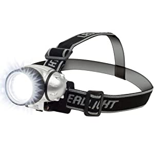 Hawk 75-fl17 Super Bright 7 Led Headlamp With Adjustable Strap