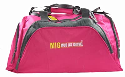 Ladies Extra Large Pink Holdall Bag - Sports Travel Hiking School