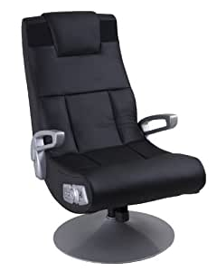 Ace Bayou Xfunctional Media Furniture X-Pedestal Audio Gamer Chair