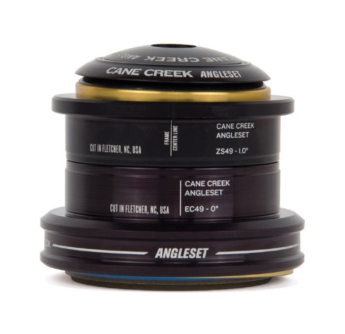 "Cane Creek Angleset 1D Zs49-Ec49/40, 1.5"" Ext Cup Head-Tube"