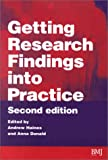img - for Getting Research Findings into Practice book / textbook / text book